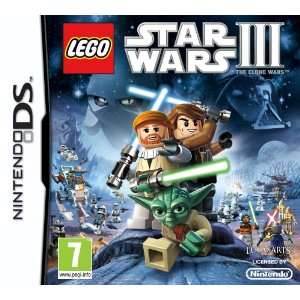 LEGO Star Wars III 3 The Clone Wars Game DS [UK Import]