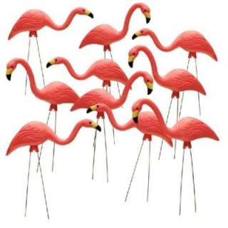 27 in. Pink Flamingo 10 Pack HDR 499485