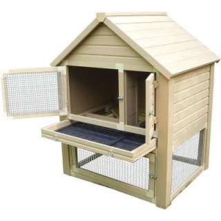 New Age Pet Huntington Townhouse Rabbit Hutch ECORH203 at The Home