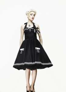 Hell Bunny Motley Dress Kleid knielang rockabilly emo