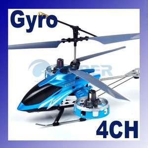 GYRO 4ch Mini Metal Radio Control RC Helicopter Toy RTF