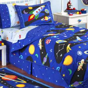 Out Of This World Twin Comforter & Sheets Set FREE GIFT