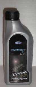 OLIO MOTORE FORD FORMULA F 5W30 LITRI 1