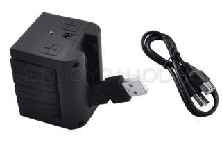 High Speed USB 2.0 7 Port HUB Cable For Laptop PC Black