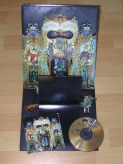 Michael Jackson Dangerous Limitierte Pop Up Diorama CD in Baden