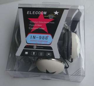 Mix style Star Pattern 3.5mm PC Earphone Headphone