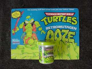 teenage mutant ninja turtles tmnt   OOZE   MEGA RARE   STORE DISPLAY