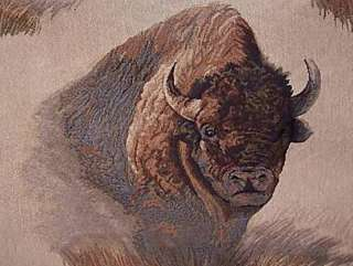 Majestic Buffalo Counted Cross Stitch Pattern