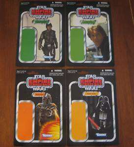 STAR WARS   Comic Con Exclusive figure Card set of 4