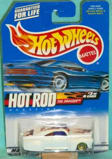 Hot Wheels 2000 #7 TAIL DRAGGER Hot Rod Series #3 of 4