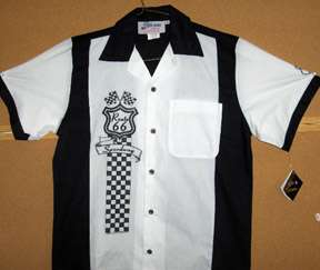 Route 66 Speedway front of Retro Shirt Go Cruisin NEW