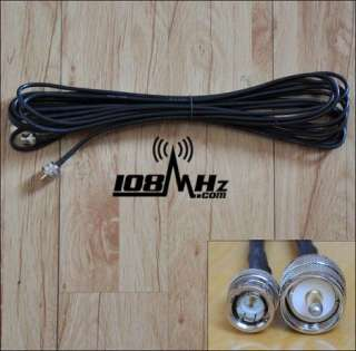 High quality fm transmitter GP antenna 26ft coax cable