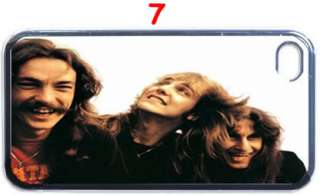 Rush Band Legend Fans Custom Design iPhone 4 Case iPhone 4S Case (Back