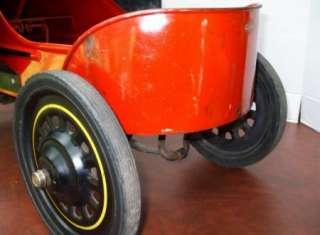 Garton Pedal Car Casey Jones Locomotive/ Train Cannonball Express No 9