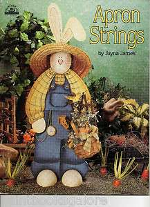 Apron Strings Jayna James Bunnies Bears Hares Cute Decorative Painting