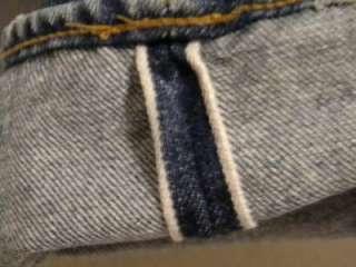 VTG LEVIS 501 REDLINE Selvage Denim levi Jeans Pants 35x28 #6 USA MADE