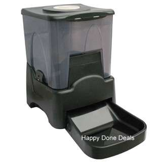 LARGE AUTOMATIC DIGITAL PET FEEDER AUTO CAT & DOG FOOD