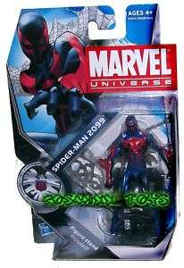 MARVEL UNIVERSE SERIES SPIDER MAN 2099 FIGURE HASBRO