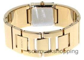 DKNY Uhren Damenuhren NY4802 Damen Armband Schmuckband Damenuhr gold