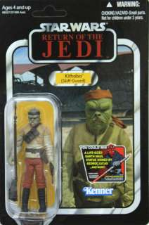 Star Wars The Vintage Collection Skiff Guard KITHABA VC56 Carded
