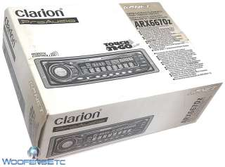 ARX6670z CLARION PROAUDIO CASSETTE STEREO PLAYER WITH REMOTE FLIP DOWN