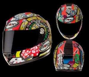 integrale moto capacete SUOMY VANDAL ATLANTIC kawasaki zx 6r 636 ninja