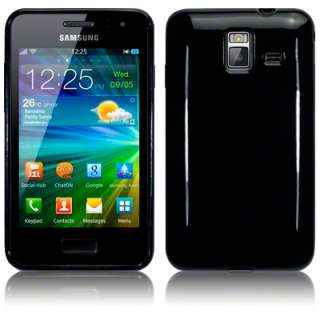 TPU GEL CASE / COVER FOR SAMSUNG WAVE M S7250   SOLID BLACK