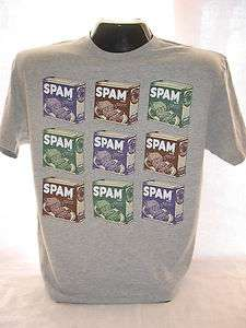 SPAM Hormel Foods Canned Meat T Shirt Tee New Lg 711