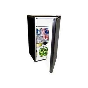 Haier 3.9 Cu Ft Fridge W Full Sz Freezer Black