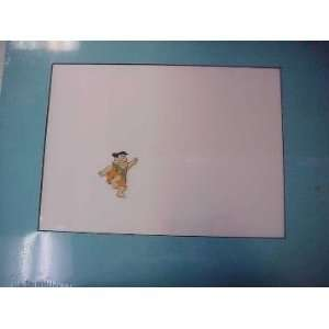 Fred Flintstone Hanna  Barbera Cartoon Cel: Everything