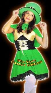 FANCY DRESS ST PATRICKS DAY LEPRECHAUN COSTUMES