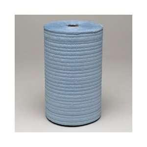 Blue Wipers Roll, 4 ply, Six   275 Feet Rolls Per Case