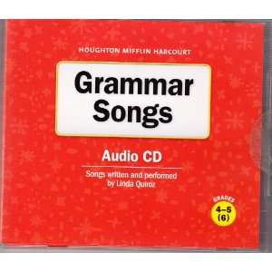 Grammar Songs Grades 4 6 Houghton Mifflin: Linda Quiroz: Music