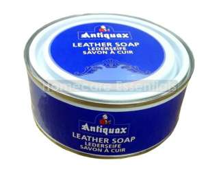 Antiquax Leather (Saddle) Soap 250ml Cleans & Preserves