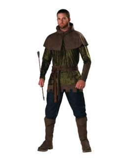 Mens Epic Robin Hood Costume  Mens TV and Movie Halloween Costumes