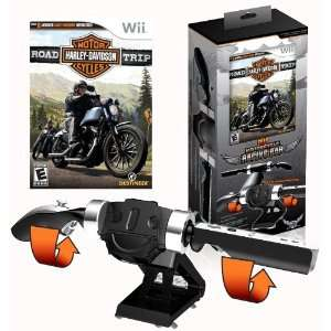 Harley Davidson with Motorcycle Handle Bar Bundle Video