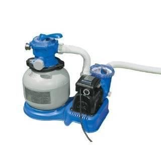 1600 gal/hr Intex Krystal Clear Sand Filter Pump [Toy