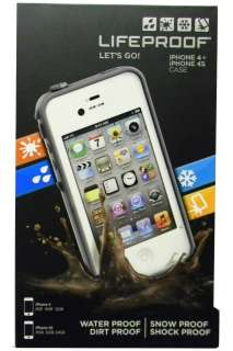 Lifeproof iPhone 4 4S Case Life Proof Generation 2 White In Retail Box
