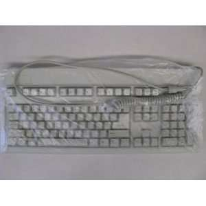 Keytronic Beige PS/2 104 Key Keyboard E03601QLPS2 C