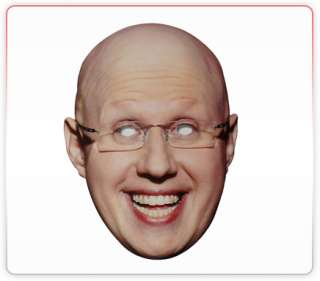 Matt Lucas Celebrity Funny Face Mask Ideal For Fancy Dress Hen Stag