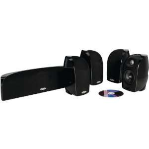 Polk Audio TL250 Speaker (5 pack, Black) Electronics