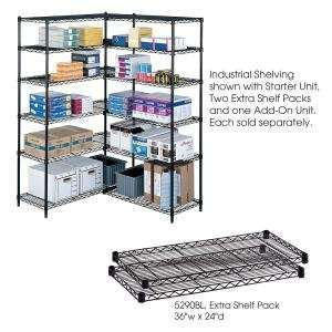 Safco 36 x 24 in Extra Shelf Pack: Everything Else