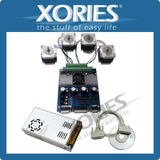 CNC Router DIY Kit 5 Axis Breakout Board + 3x M542H Stepper Motor