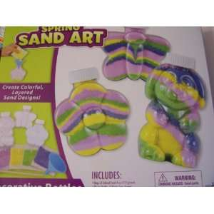 RoseArt Spring Sand Art ~ Makes 3 Decorative Bottles Toys