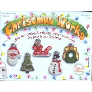 Christmas Works   A Complete Holiday Ornament Making Kit