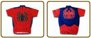 Pure Hero SPIDER MAN Bike Cycling Jersey Shirt S to XL