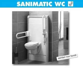 SFA SANITRIT SaniLife  SANIMATIC WC   Struttura motorizzata per wc