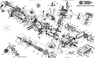 Ingranaggio Morini Franco Motori motore 6404 cod 181151