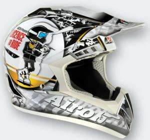 Casco moto Cross AIROH CR900 RIDE motard enduro trial