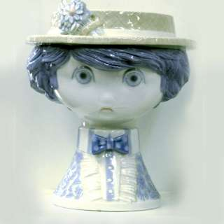 VINTAGE LLADRO BLUE BOY FLOWER VASE LIMITED EDITION!!